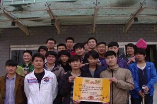 建筑工程技术123班到图书馆学习学雷锋活动