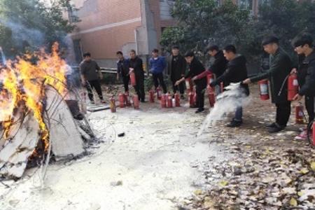 """我院成功举办""""119""""消防演练活动"""