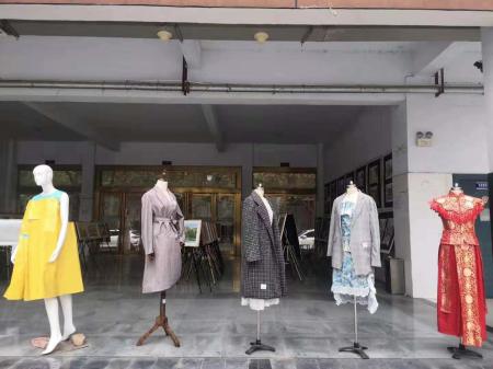 我院艺术传媒系服装专业2019年秋季服装展