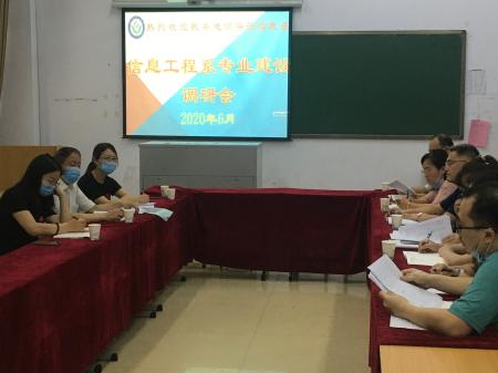 信息工程系专业建设调研会