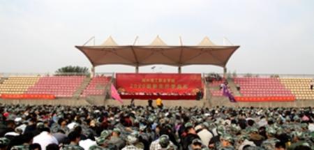26uuu噜亚洲图片区隆重举行2020级新生开学典礼暨军训动员大会