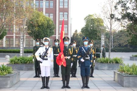 2020―2021学年第一学期第一次升旗仪式